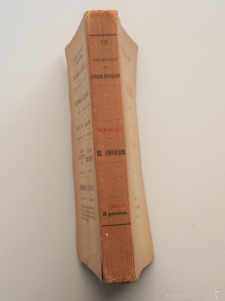 Libros antiguos: EL AHORCADO (POLIKUCHKA) - CONDE LEON TOLSTOY - PRINCIPIOS SIGLO XX - Foto 2 - 58495877