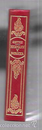 Libros antiguos: MONTANER Y SIMON. HERMANN Y DOROTEA. GOETHE. SERIE LIMITADA. VER FOTOS. GRAN PAPEL. AÑOS 40 - Foto 3 - 58576817