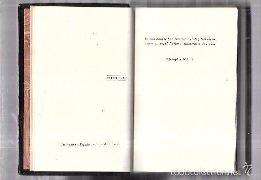 Libros antiguos: MONTANER Y SIMON. POESIAS. FRAY LUIS DE LEON. SERIE LIMITADA. VER FOTOS. EXCEPCIONAL.AÑOS 40 - Foto 2 - 58579172