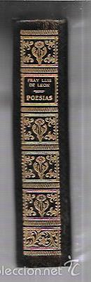 Libros antiguos: MONTANER Y SIMON. POESIAS. FRAY LUIS DE LEON. SERIE LIMITADA. VER FOTOS. EXCEPCIONAL.AÑOS 40 - Foto 3 - 58579172