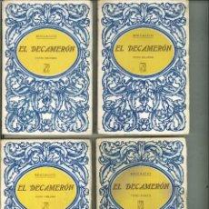 Libros antiguos: EL DECAMERÓN. BOCCACCIO. Lote 58686478