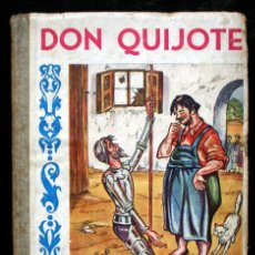 Libros antiguos: DON QUIJOTE DE LA MANCHA - ILUSTRADO POR HERMENLIN - RARO - ARGENTINA. Lote 60350675