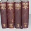 Libros antiguos: (M) STENDHAL , HENRI BEYLE - OBRAS COMPLETAS ( 4 VOLS ) EDT AGUILAR 1964 , SEÑALES DE USO. Lote 60940271