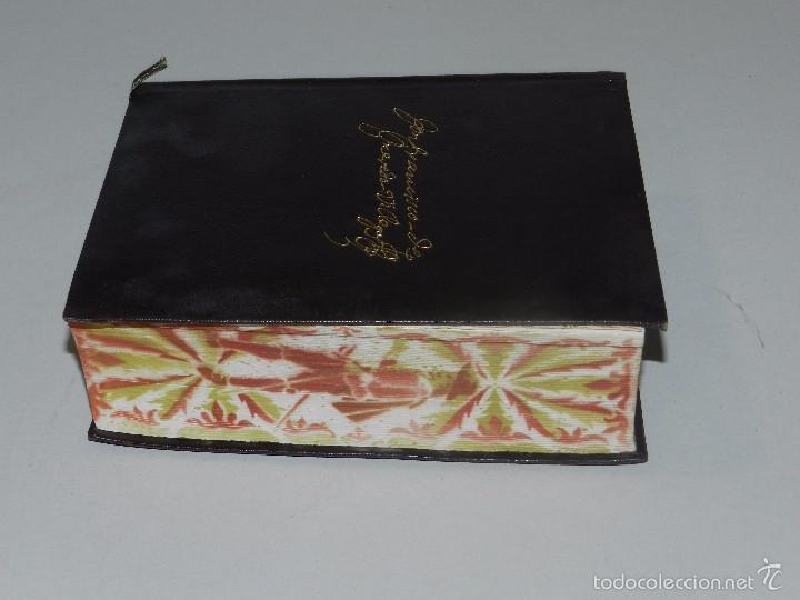 Libros antiguos: (M) QUEVEDO, FRANCISCO DE - OBRAS COMPLETAS PROSA ,EDT AGUILAR, MADRID 1941, 2 EDC, CANTOS PINTADOS - Foto 2 - 60993395