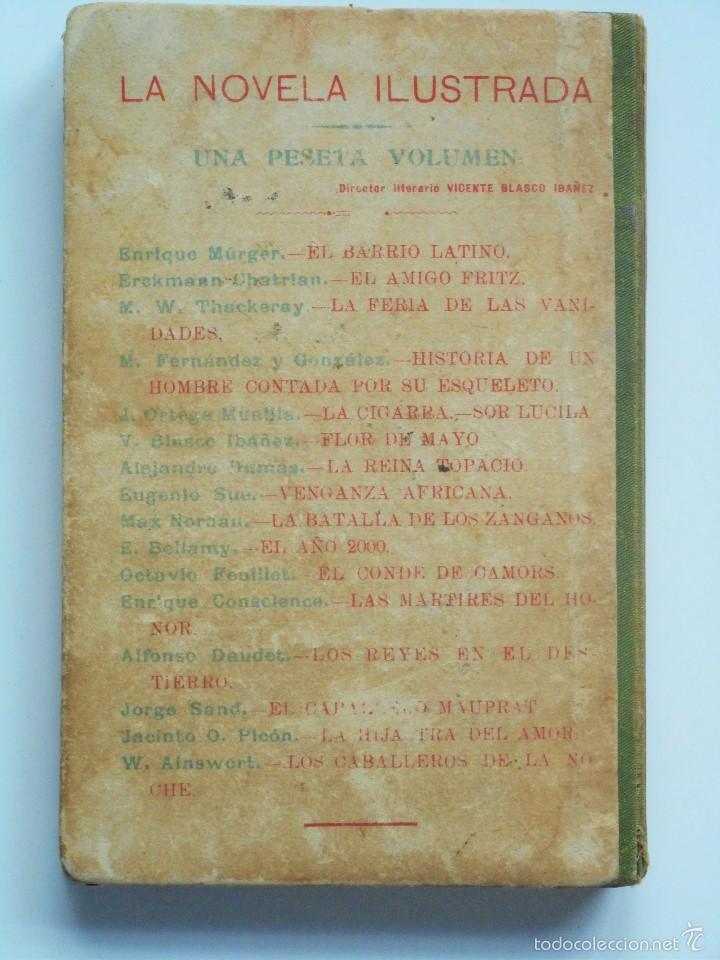 Libros antiguos: VENGANZA AFRICANA - EUGENIO SUÉ - LA NOVELA ILUSTRADA - Foto 3 - 61027663