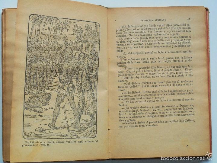 Libros antiguos: VENGANZA AFRICANA - EUGENIO SUÉ - LA NOVELA ILUSTRADA - Foto 5 - 61027663