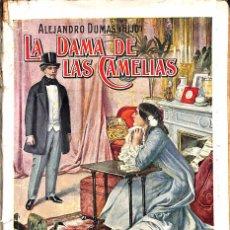 Libros antiguos: LA DAMA DE LAS CAMELIAS ALEJANDRO DUMAS ( HIJO). Lote 61665612