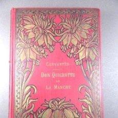 Libros antiguos: PRECIOSO DON QUIJOTE DE 1909 CON ILUSTRACIONES DE GUSTAVE DORE, FORMATO 28 X 18,5, 167 GRABADOS. Lote 145575776