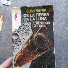 Libros antiguos: LIBRO DE LA TIERRA A LA LUNA. Lote 62198492