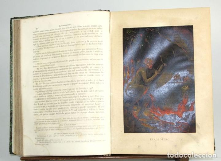 Libros antiguos: 8036 - OBRAS DE FRANCISCO QUEVEDO. TOMOS I Y II(VER DESCRIP). EDIT. TERRAZA, ALIENA Y CIA. 1882. - Foto 5 - 62354516