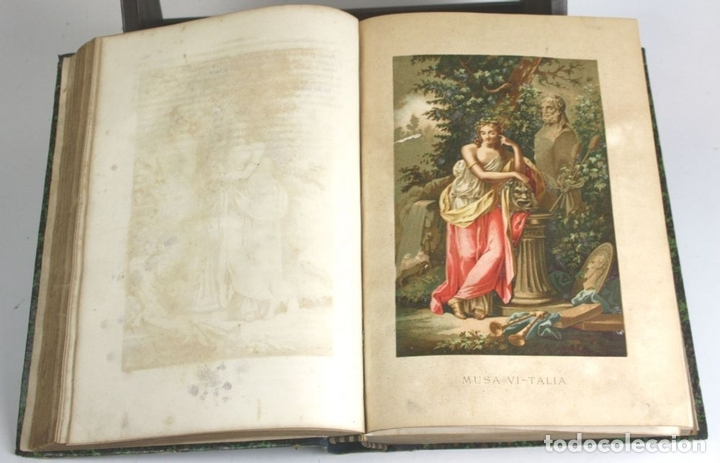 Libros antiguos: 8036 - OBRAS DE FRANCISCO QUEVEDO. TOMOS I Y II(VER DESCRIP). EDIT. TERRAZA, ALIENA Y CIA. 1882. - Foto 10 - 62354516