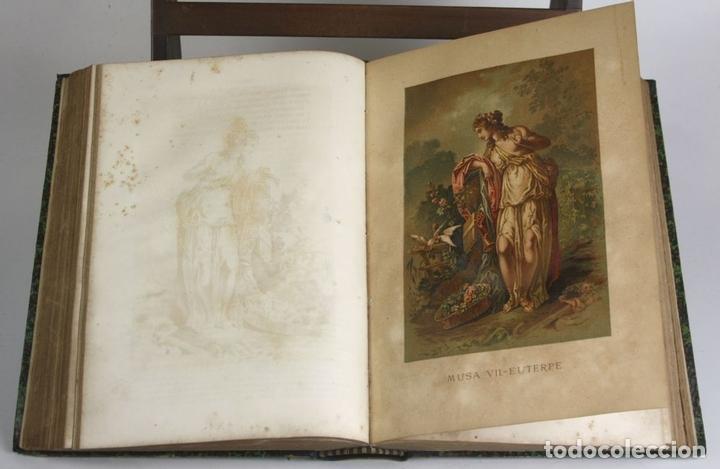 Libros antiguos: 8036 - OBRAS DE FRANCISCO QUEVEDO. TOMOS I Y II(VER DESCRIP). EDIT. TERRAZA, ALIENA Y CIA. 1882. - Foto 12 - 62354516