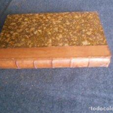 Libros antiguos: I PROMESSI SPOSI. MANZONI C 1860 CON HERMOSO GRABADO MEDIO CUERO. Lote 63029220