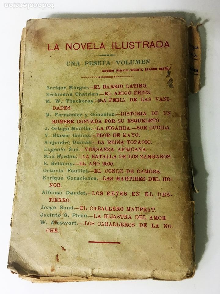 Libros antiguos: LA CIGARRA novela ilustrada DE JOSE ORTEGA MUNILLA - Foto 2 - 63106908