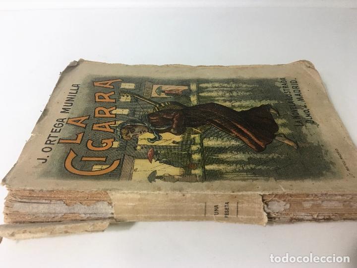 Libros antiguos: LA CIGARRA novela ilustrada DE JOSE ORTEGA MUNILLA - Foto 3 - 63106908