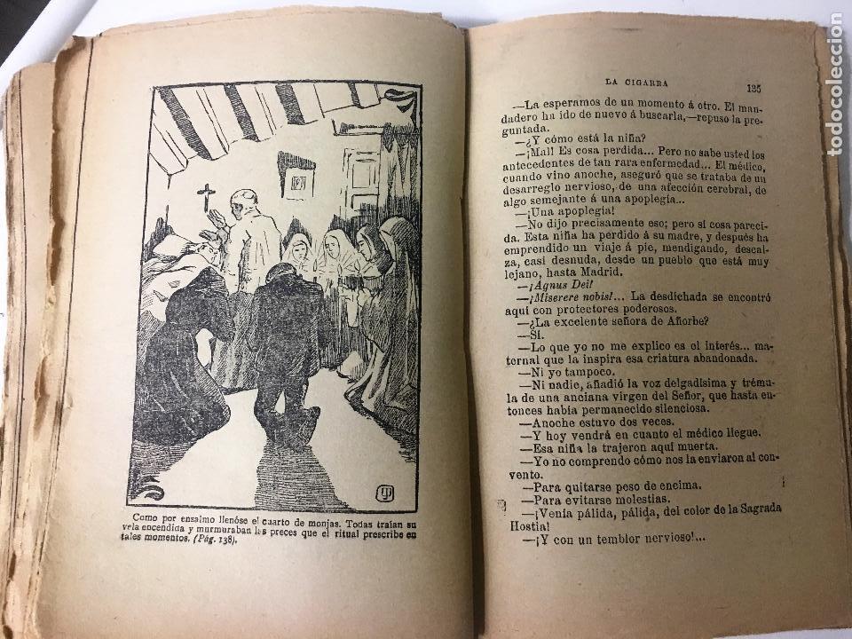 Libros antiguos: LA CIGARRA novela ilustrada DE JOSE ORTEGA MUNILLA - Foto 4 - 63106908