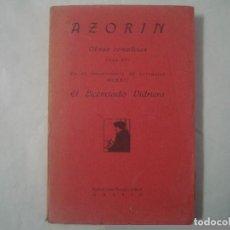 Libros antiguos: AZORIN. EL LICENCIADO VIDRIERA. EDITORIAL CARO RAGGIO 1921.OBRAS COMPLETAS.. Lote 63314536