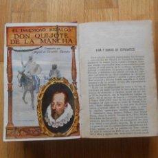 Libros antiguos: DON QUIJOTE DE LA MANCHA, RAMON SOPENA, EDICION CENTENARIO. Lote 63390928