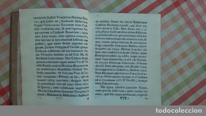 Libros antiguos: Coluthi Lycopolitae. Thebani de raptu Helenae libellus. (1770) - Foto 3 - 64033195