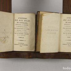 Libros antiguos: 4902- AVENTURAS DE GIL BLAS DE SANTILLANA. M. LE SAGE. IMP. VILLALPANDO. 1805. TOMOS III Y IV.. Lote 45500391