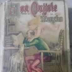 Libros antiguos: QUIJOTE CALLEJA EN MINIATURA, MUY BUEN ESTADO,ORIGINAL,1905,CERVANTES, EL QUE SE VÉ . Lote 64336701