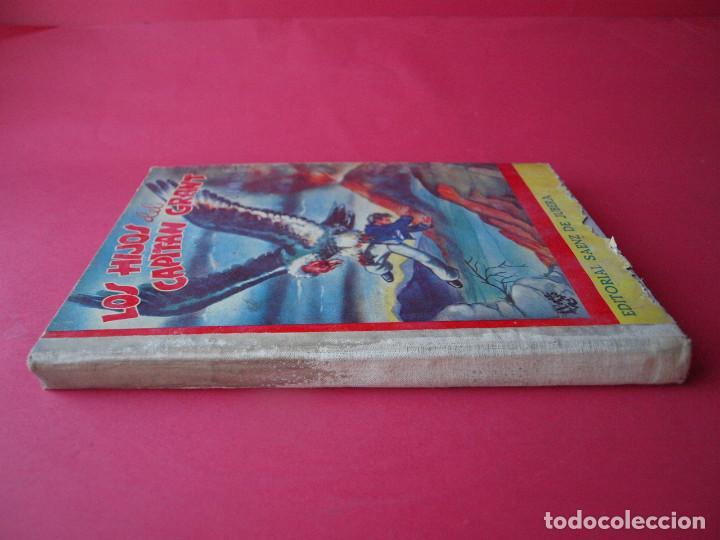 Libros antiguos: LOS HIJOS DEL CAPITÁN GRANT - JULIO VERNE - EDITORIAL SÁENZ DE JUBERA - CIRCA 1930 - Foto 2 - 64343819