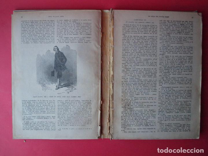 Libros antiguos: LOS HIJOS DEL CAPITÁN GRANT - JULIO VERNE - EDITORIAL SÁENZ DE JUBERA - CIRCA 1930 - Foto 5 - 64343819