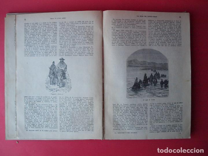 Libros antiguos: LOS HIJOS DEL CAPITÁN GRANT - JULIO VERNE - EDITORIAL SÁENZ DE JUBERA - CIRCA 1930 - Foto 6 - 64343819