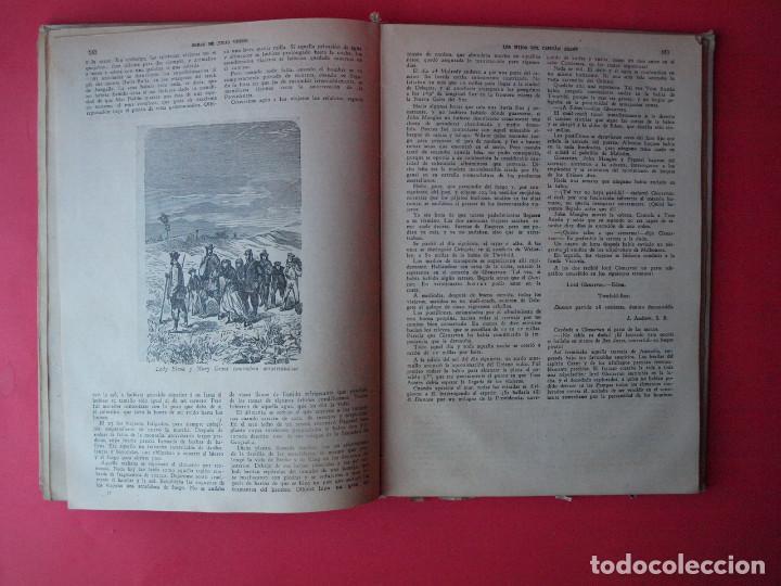 Libros antiguos: LOS HIJOS DEL CAPITÁN GRANT - JULIO VERNE - EDITORIAL SÁENZ DE JUBERA - CIRCA 1930 - Foto 7 - 64343819
