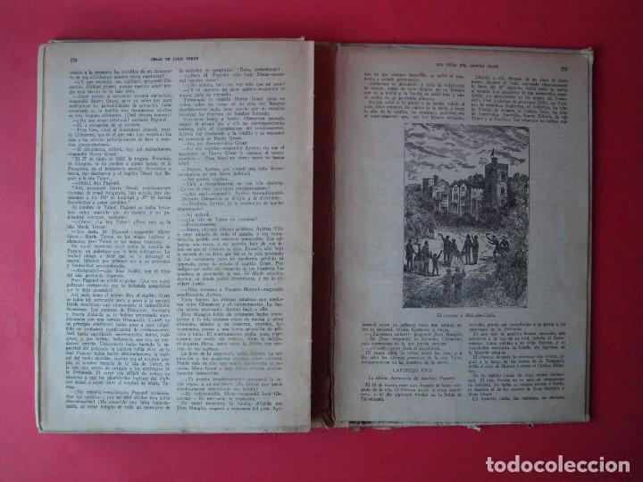 Libros antiguos: LOS HIJOS DEL CAPITÁN GRANT - JULIO VERNE - EDITORIAL SÁENZ DE JUBERA - CIRCA 1930 - Foto 8 - 64343819