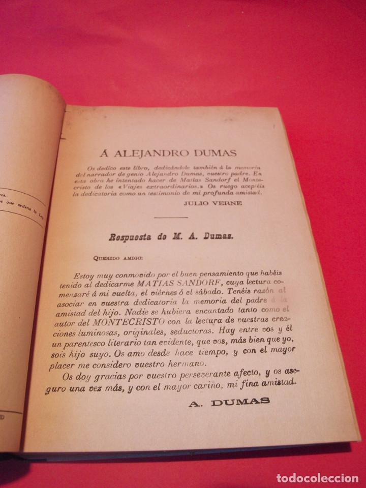 Libros antiguos: MATÍAS SANDORF - JULIO VERNE - EDITORIAL SÁENZ DE JUBERA - CIRCA 1930 - Foto 6 - 64350407