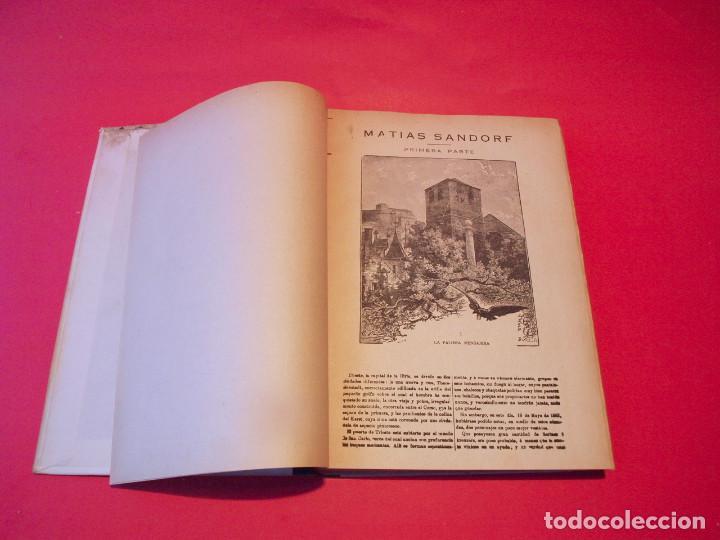 Libros antiguos: MATÍAS SANDORF - JULIO VERNE - EDITORIAL SÁENZ DE JUBERA - CIRCA 1930 - Foto 7 - 64350407