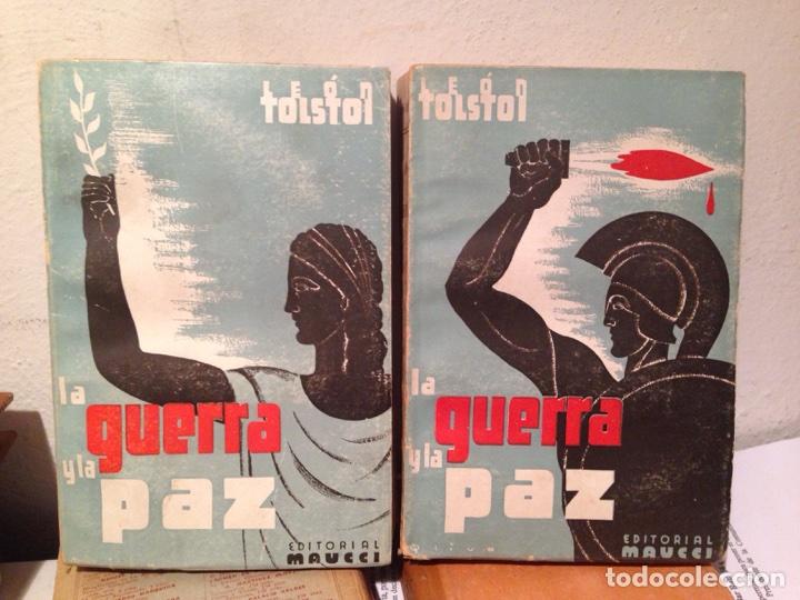 LA GUERRA Y LA PAZ TOLSTOI 2TOMOS (Libros antiguos (hasta 1936), raros y curiosos - Literatura - Narrativa - Clásicos)