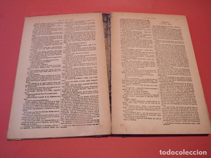 Libros antiguos: LAS INDIAS NEGRAS, LAS TRIBULACIONES DE UN CHINO EN CHINA - JULIO VERNE - ED. SÁENZ DE JUBERA - Foto 5 - 64454843
