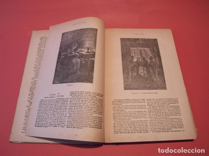 Libros antiguos: LAS INDIAS NEGRAS, LAS TRIBULACIONES DE UN CHINO EN CHINA - JULIO VERNE - ED. SÁENZ DE JUBERA - Foto 6 - 64454843
