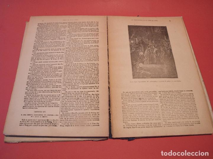 Libros antiguos: LAS INDIAS NEGRAS, LAS TRIBULACIONES DE UN CHINO EN CHINA - JULIO VERNE - ED. SÁENZ DE JUBERA - Foto 7 - 64454843