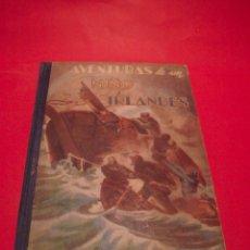 Libros antiguos: AVENTURAS DE UN NIÑO IRLANDÉS - JULIO VERNE - EDITORIAL SÁENZ DE JUBERA - AÑOS 30. Lote 64497543