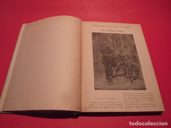 Libros antiguos: AVENTURAS DE UN NIÑO IRLANDÉS - JULIO VERNE - EDITORIAL SÁENZ DE JUBERA - AÑOS 30 - Foto 5 - 64497543