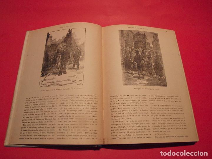 Libros antiguos: AVENTURAS DE UN NIÑO IRLANDÉS - JULIO VERNE - EDITORIAL SÁENZ DE JUBERA - AÑOS 30 - Foto 6 - 64497543