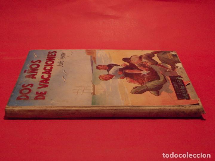 Libros antiguos: DOS AÑOS DE VACACIONES - JULIO VERNE - EDITORIAL SÁENZ DE JUBERA - AÑOS 30 - Foto 2 - 64499123