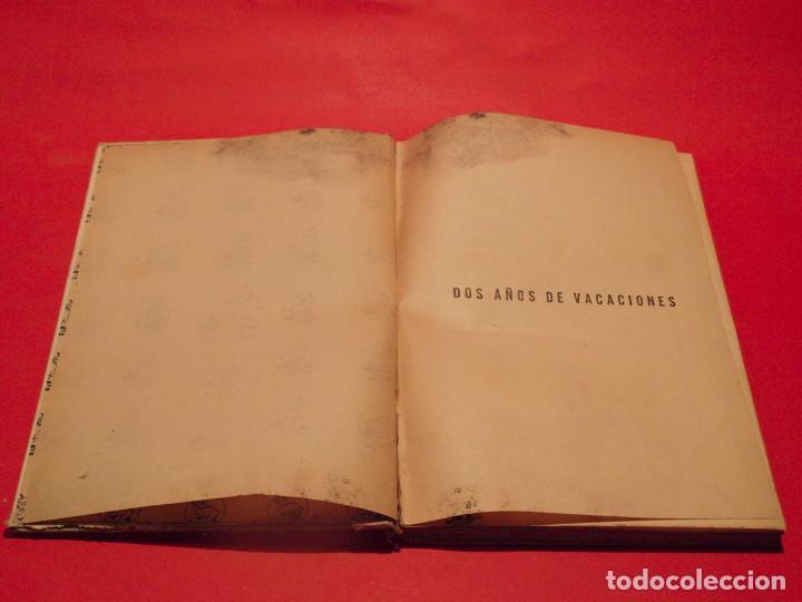 Libros antiguos: DOS AÑOS DE VACACIONES - JULIO VERNE - EDITORIAL SÁENZ DE JUBERA - AÑOS 30 - Foto 4 - 64499123
