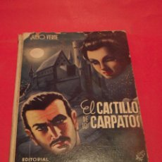 Libros antiguos: EL CASTILLO DE LOS CÁRPATOS - JULIO VERNE - EDITORIAL SÁENZ DE JUBERA - AÑOS 30. Lote 64499839