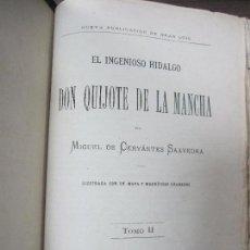 Libros antiguos: DON QUIJOTE DE LA MANCHA. TOMO II. MIGUEL DE CERVANTES. BIBLIOTECA UNIVERSAL ILUSTRADA.1875.. Lote 65446374