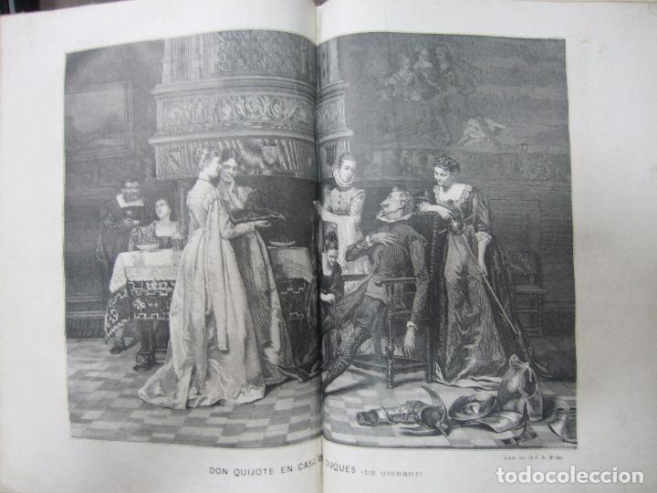Libros antiguos: DON QUIJOTE DE LA MANCHA. TOMO II. MIGUEL DE CERVANTES. BIBLIOTECA UNIVERSAL ILUSTRADA.1875. - Foto 8 - 65446374