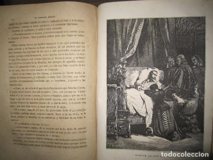 Libros antiguos: DON QUIJOTE DE LA MANCHA. TOMO II. MIGUEL DE CERVANTES. BIBLIOTECA UNIVERSAL ILUSTRADA.1875. - Foto 10 - 65446374