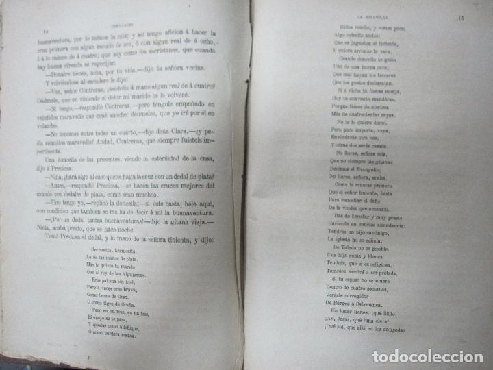 Libros antiguos: DON QUIJOTE DE LA MANCHA. TOMO II. MIGUEL DE CERVANTES. BIBLIOTECA UNIVERSAL ILUSTRADA.1875. - Foto 11 - 65446374