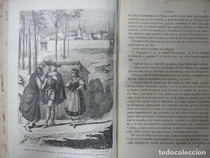 Libros antiguos: DON QUIJOTE DE LA MANCHA. TOMO II. MIGUEL DE CERVANTES. BIBLIOTECA UNIVERSAL ILUSTRADA.1875. - Foto 12 - 65446374