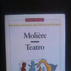 Libros antiguos: MOLIERE - TEATRO - OPERA MUNDI CIRCULO DE LECTORES. Lote 66017162