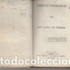 Libros antiguos: FABULAS LITERARIAS POR DON TOMAS DE IRIARTE BARCELONA SIERRA Y MARTÍ 1823 PERGAMINO. Lote 66452638