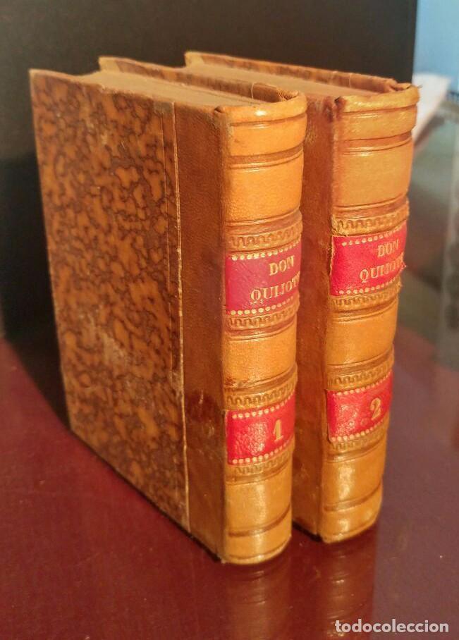 DON QUIJOTE DE LA MANCHA ED. FERRER 1832 (Libros antiguos (hasta 1936), raros y curiosos - Literatura - Narrativa - Clásicos)